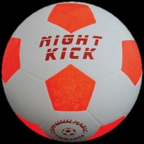 Leuchtfussball Night Kick